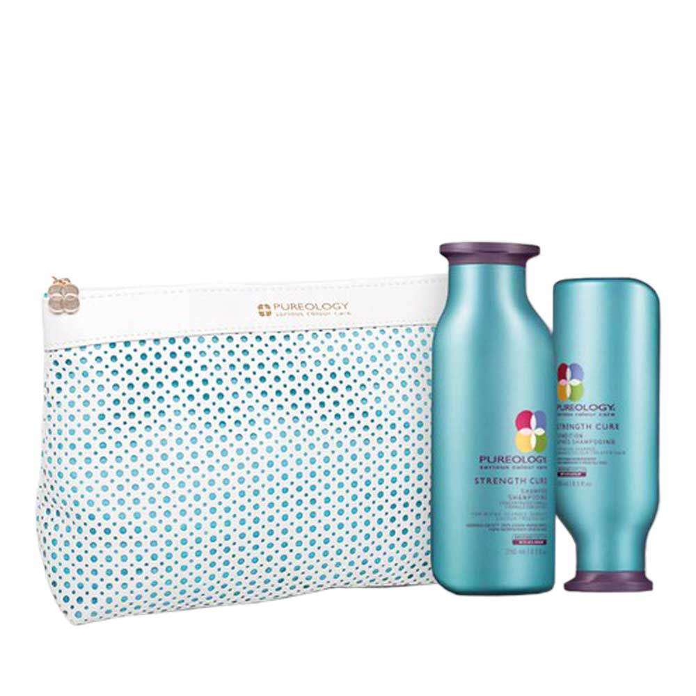 Hair Conditioner Pureology Strength Cure Christmas Wash Bag