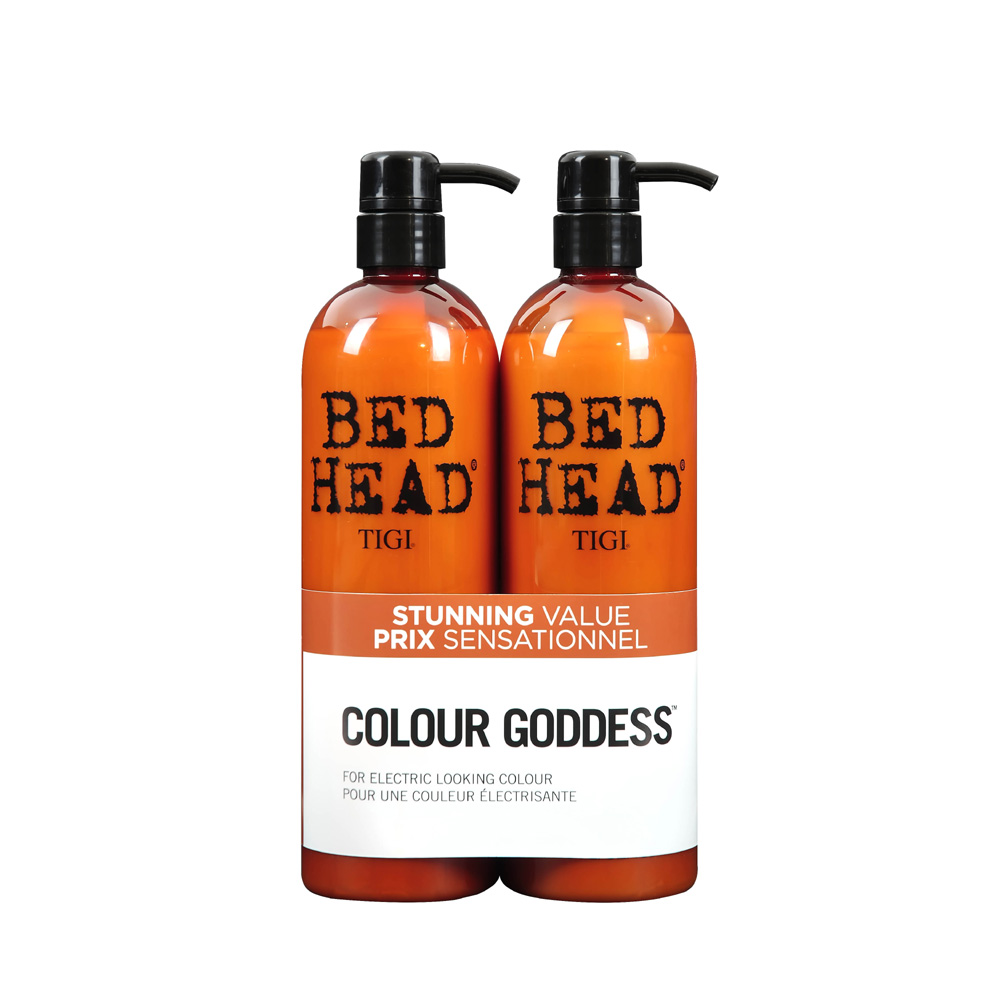 Hair Conditioner Tigi Bed Head Colour Goddess Oil Infused Tween Duo 2 x 750ml
