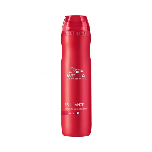Wella Professionals Brilliance Shampoo Coarse 250ml