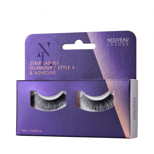 Nouveau Lashes Strip Lashes Glamour / Style 4