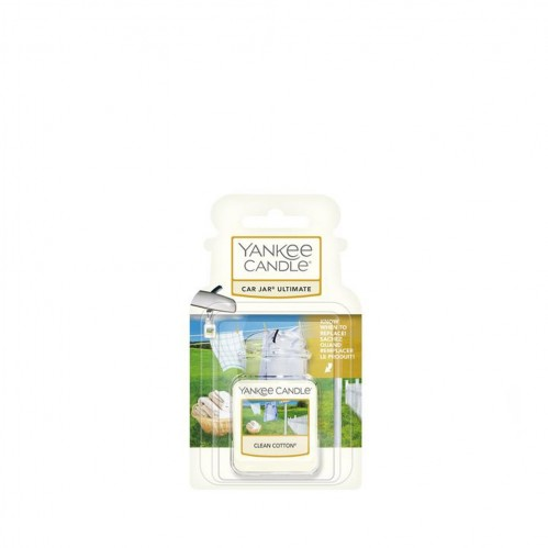 Yankee Candle Car Jar Ultimate Clean Cotton