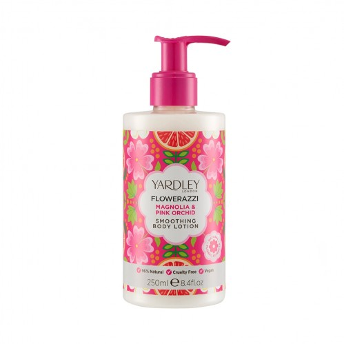 Yardley London Magnolia & Pink Orchid Body Lotion