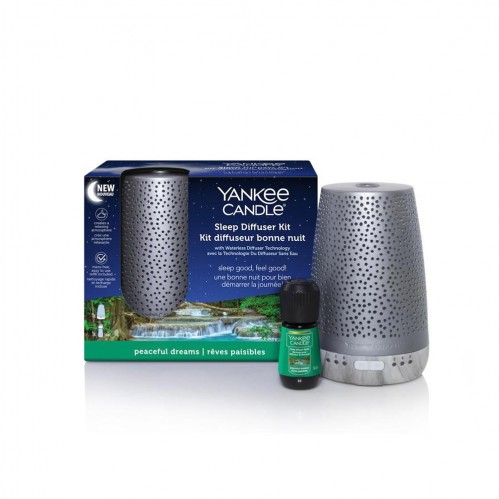 Yankee Candle Sleep Diffuser Silver - Peaceful Dreams (Beauty Products)