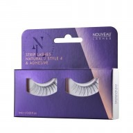 Nouveau Lashes Strip Lashes Natural / Style 4