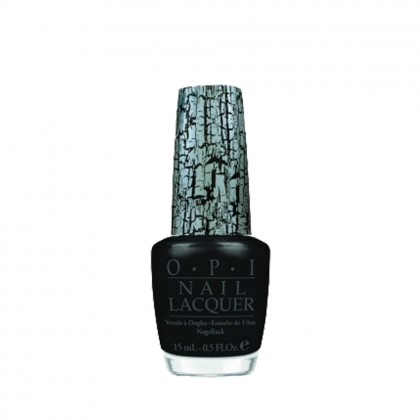 OPI Nail Shatter Top Coat Black 15ml