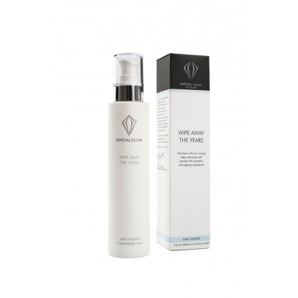 Crystal Clear Wipe Away the Years Anti-Ageing Cleansing Milk 200ml
