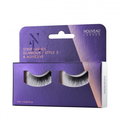 Nouveau Lashes Strip Lashes Glamour / Style 3