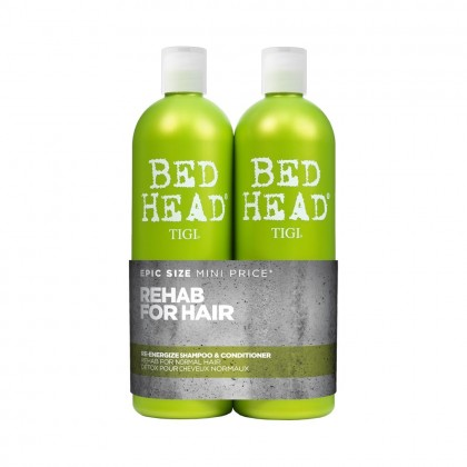 TIGI Bed Head Re-Energize Tween Duo 2 x 750ml