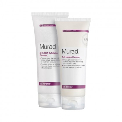 Murad Age Reform Cleanser Toner Duo