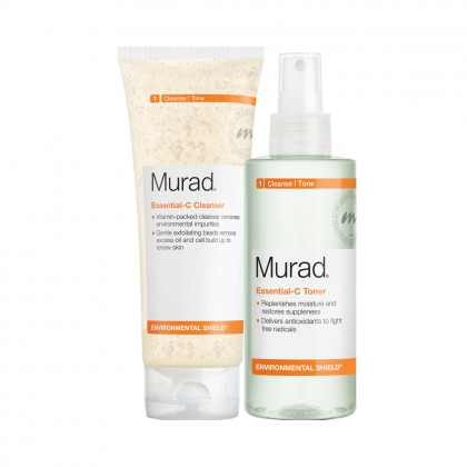 Murad Essential-C Cleanser Toner Duo