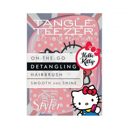 Tangle Teezer Compact Styler Pink Hello Kitty Boxed