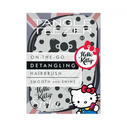 Tangle Teezer Compact Styler Black/White Hello Kitty Boxed