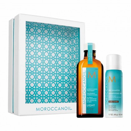 Moroccanoil Treatment Light Style on the Go with Dry Shampoo Dark Tones