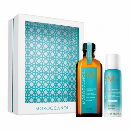 Moroccanoil Treatment Style on the Go with Dry Shampoo Light Tones