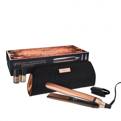 ghd Copper Luxe Platinum Styler Premium Gift Set