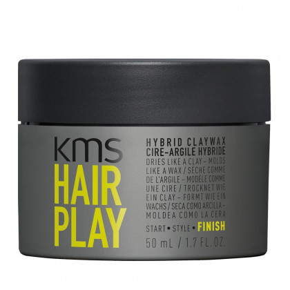 KMS Hair Play Hybrid Clay Wax 50ml