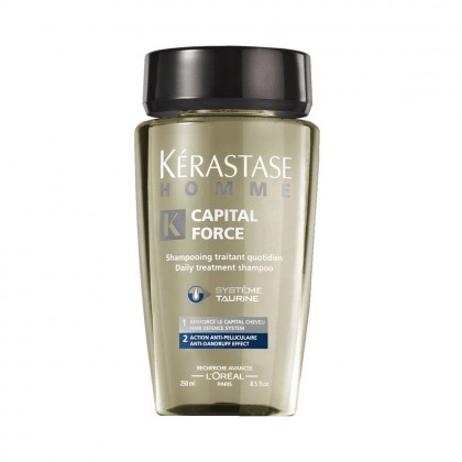 Kérastase Homme Capital Force Shampoo - Anti Dandruff 250ml