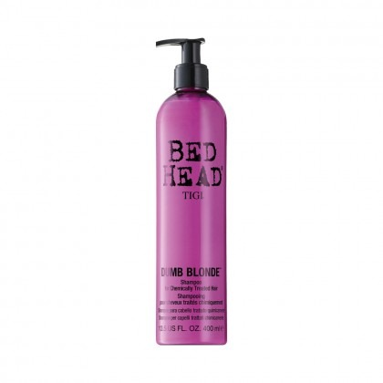 TIGI Bed Head Dumb Blonde Shampoo for Chemically Treated Hair 400ml