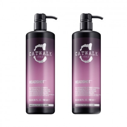 Tigi Catwalk Headshot Shampoo and Conditioner Tween Duo 2 x 750ml