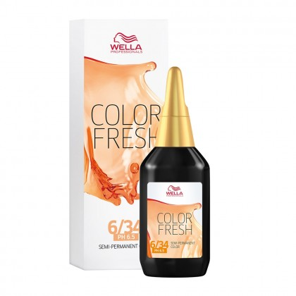 Wella Color Fresh 6/34 Golden Red Blonde