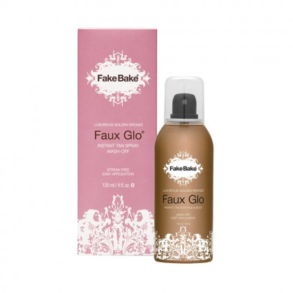 Fake Bake Golden Bronze Faux Glow Instant Tan Spray Wash-Off 120ml