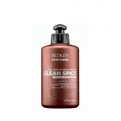 Redken For Men Clean Spice 2-in-1 Conditioning Shampoo 300ml