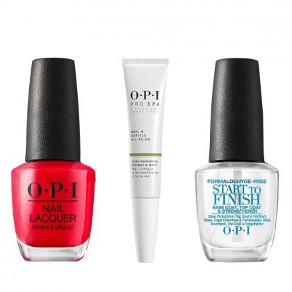 OPI At Home Mani