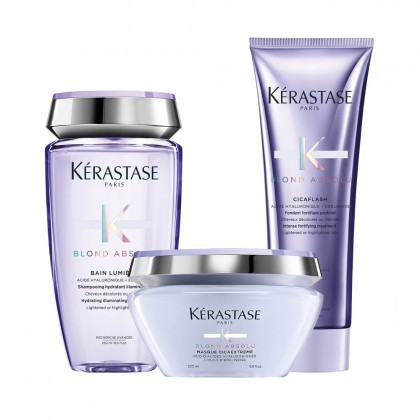 Kerastase Absolu Blond Shine, Care and Hydrate Bundle