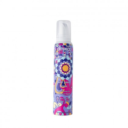 Amika Bust Your Brass Violet Leave-in-Treatment Foam 156ml