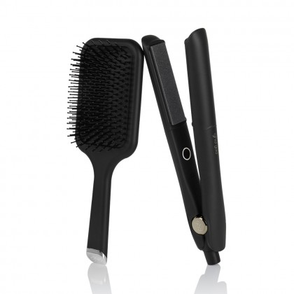 ghd Gold Straightener Gift Set with Paddle Brush