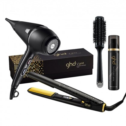 ghd V Gold Classic and Air Bundle