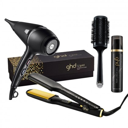 ghd V Gold Max and Air Bundle