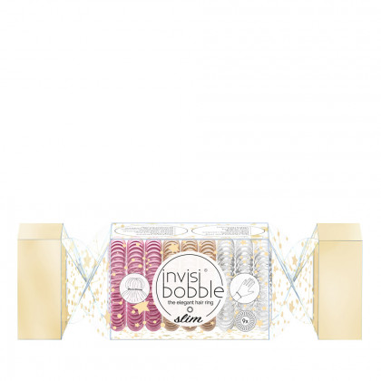 Invisibobble The Wonderfuls Slim Trio Holiday Cracker