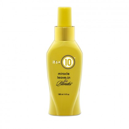 It's a 10 Miracle Leave-in Spray for Blondes 120ml