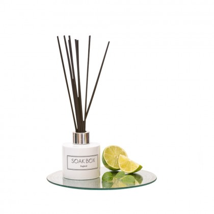 Soak-Box Lime, Basil & Pomelo Luxury Reed Diffuser 100ml