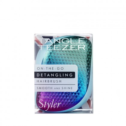 Tangle Teezer Compact Styler Detangling Hairbrush – Mermaid Sundowner