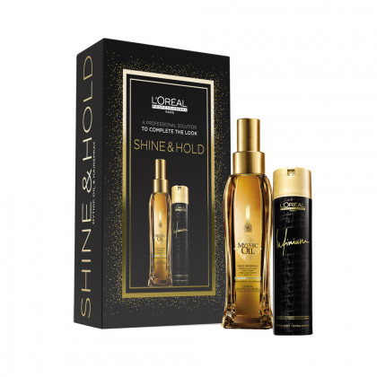L'Oreal Professionnel Mythic Oil and Infinium Extra Strong Gift Set