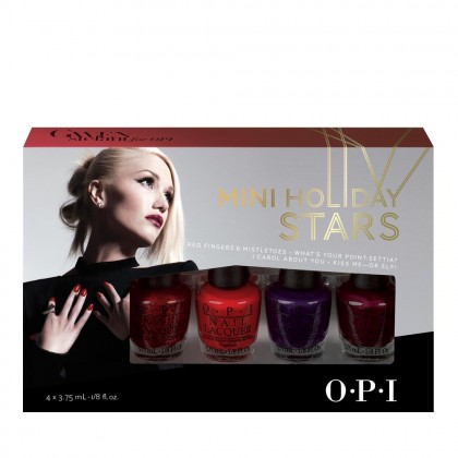 OPI Gwen Stefani Mini Holiday Stars Mini Pack