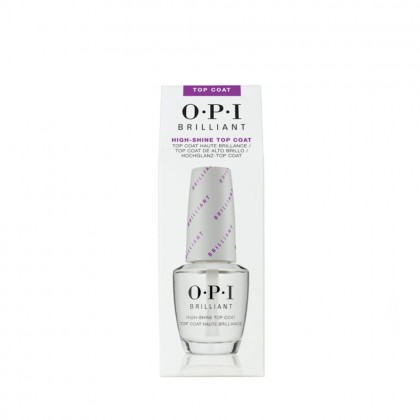 OPI Brilliant Lacquer Top Coat 15ml