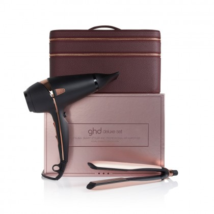 ghd Rose Gold Platinum+ & Air Gift Set