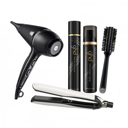 ghd Platinum+ White and Air Bundle