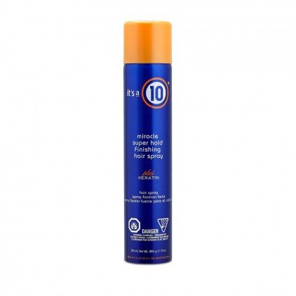 It's a 10 Miracle Super Hold Finishing Spray Plus Keratin 334ml