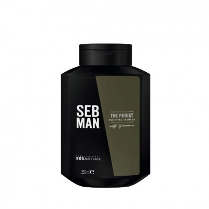 SEB MAN The Purist Anti-Dandruff Shampoo  250ml