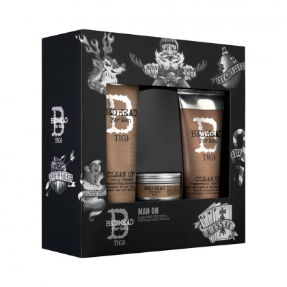 Tigi Bed Head For Men Man On Grooming Gift Set