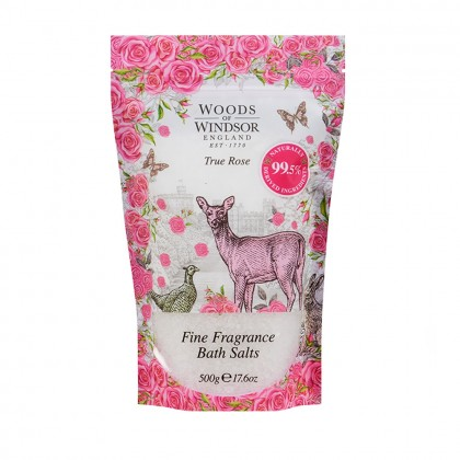 Woods of Windsor True Rose Bath Salts 500g