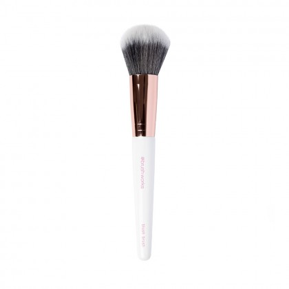 Brushworks White & Gold Blush Brush