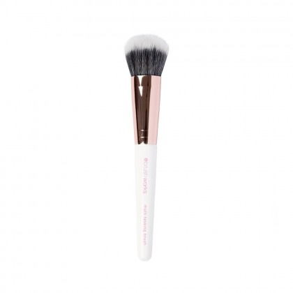 Brushworks White & Gold Multi Tasking Brush