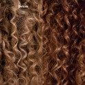 Wella Color Fresh Mask Caramel Glaze before and after