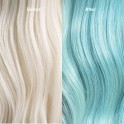 Wella Professional Color Fresh Mask Before and After Mint
