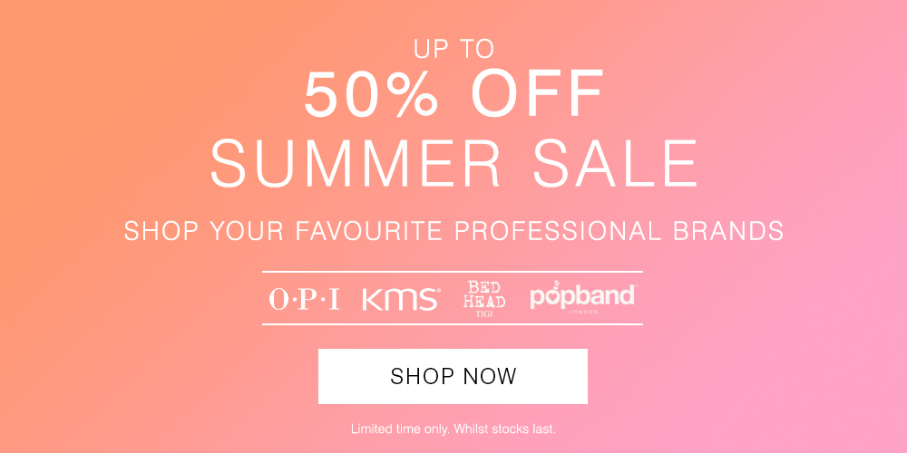 Save 50% Summer Sale